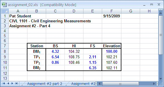 Help with excel assignments